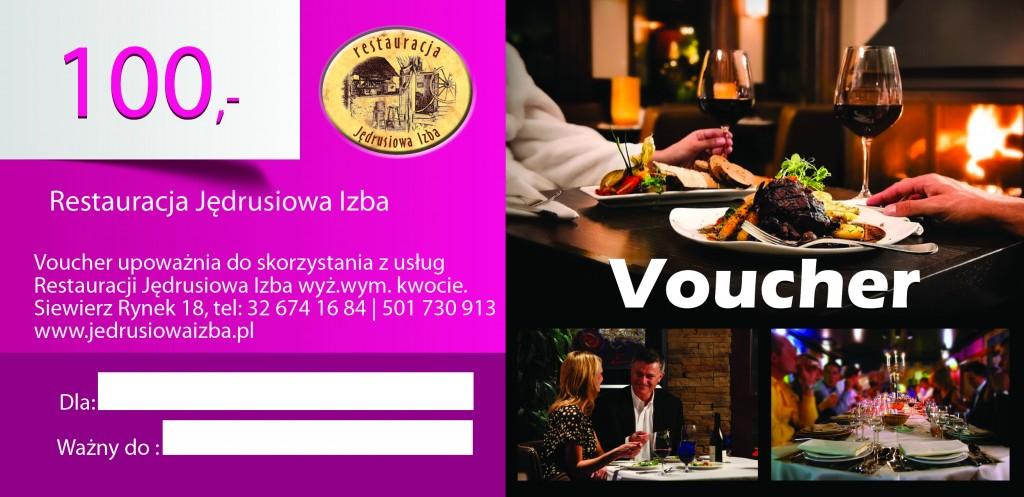 bon podarunkowy restauracja Jędrusiowa Izba